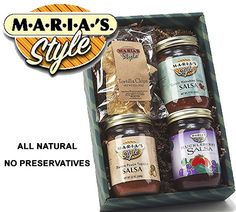 Win a Maria's Style All Natural Salsa 3-Pack Gift Set #sweepstakes #giveaway #LaPrimaRoyale #Gourmet