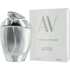 AV Eau De Parfum Spray for Women by Adrienne Vittadini, 3 Ounce by Adrienne Vittadini. $19.41. Introduced by the design house of adrienne vittadini in 1994. This feminine scent possesses a blend of oakmoss, blooming fresh cut flowers as well as watery notes of the fresh cool sea and the pure ocean air. It is classified as a flowery fragrance. AV by Adrienne Vittadini Eau de Parfum Spray 3.0 OZ. AV PERFUME is classified as a refreshing, flowery fragrance. This femin...