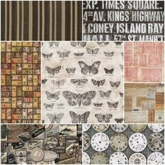 Great fabric for farmhouse style throw pillows - Eclectic Elements Fat Quarter Bundle in Documentation