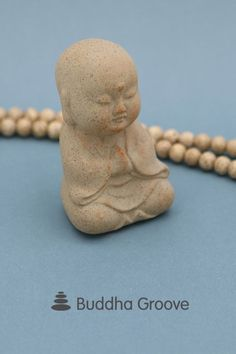 Bring peace and serenity to any small nook or cranny with this mini ceramic Buddha statue, emanating a calm aura and finished in an organic sand color. Angel Statues, Buddha Statues, Buddha Zen, Project 3, Clay Crafts, Flower Crafts, Creative Crafts, Earthy, 5 D
