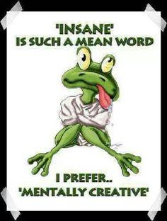 Mentally creative