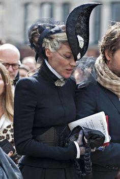 Daphne Guinness Photo - Memorial Service for Alexander McQueen