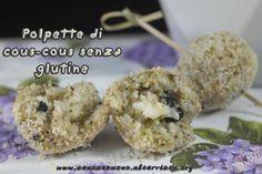 Polpette di #couscous di riso e broccoli #senzaglutine, #vegan e #senzasoia  http://senzaebuono.altervista.org/polpette-di-cous-cous-broccoli-senza-glutine/