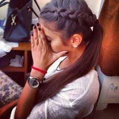 Braided Pony - Hairstyles How To