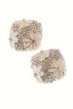 Peach Blossom Stud Earrings - light and lovely!