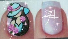 Criação Zamaia Adesivos Arte Floral, Nail Artist, Gemstone Rings, Angel, Stickers, Gemstones, Comics, Nail Jewels, Art Nails