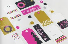Printable Gift Tags from To and From Magazine