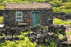 Sao Miguel Azores,some of these beach houses still standing,,,love it!