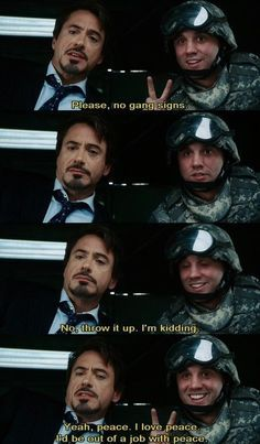 iron man movie funny - Google Search