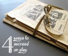 From time to time I am asked about opening a shop on Etsy. I began selling  vintage goods in my shop in January of 2013. The platform easy to use, and  the buyers are wonderful. So I thought it would be fun to share a few  success tips!   1. Develop a Network  Networking is so important. Start a Facebook page and Twitter handle for  your shop. Share items on Instagram. My most loyal buyers are friends I  have discovered through social media. Join teams on Etsy.  #etsy
