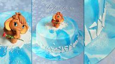 мамонтенок из мастики пошагово - Поиск в Google Ice Age Cake, Fondant, Birthday Cake, Desserts, Food, Google, Cakes, Tailgate Desserts, Fondant Icing