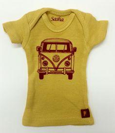 16 Sasha doll and MSD sized T-Shirt  Goldenrod by Sashapotamus