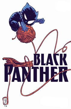 It's not all work and no play for T'Challa. --- artwork by Skottie Young, *love* his work! - Visit now to grab yourself a super hero shirt today at 40% off!