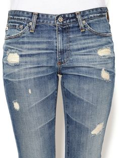 Premiere Skinny Straight Jean by AG Adriano Goldschmied at Gilt- $119