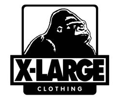 Get Inspired by X-Large Logo Branding, Branding Design, T Shirt Label, Logo Character, Clothing Logo, Band Logos, Surf Art, Logo Sticker, Graphic Design Art