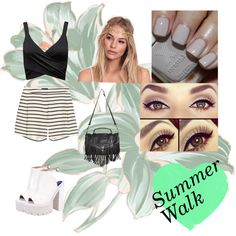 """Summer Walk"" by vanessaguerraa on Polyvore"