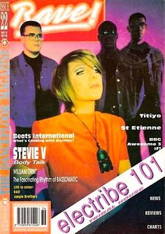 Electribe 101 - Tell Me When The Fever Ended (Raggamix) >>… St Etienne, Acid House, House Music, Culture, Magazine Covers, Cover Art, Youtube, Dance, Gallery