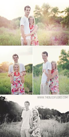 Couples Photo Shoot at The Blissful Bee Blog
