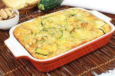 Omelete de forno com abobrinha