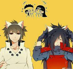 Omfg soooooo c❤️❤️❤️❤️❤️te Naruto Vs Sasuke, Anime Naruto, Naruto Comic, Naruto Cute, Naruto Funny, Naruto Shippuden Characters, Naruto Shippuden Anime, Sasunaru, Shikatema