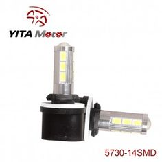 5730 14SMD 720LM Set of 2 LED Fog Light Replacement Bulbs F514-Yita