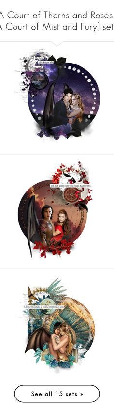 """[A Court of Thorns and Roses / A Court of Mist and Fury] sets"" by jolieenrose ❤ liked on Polyvore featuring backgrounds, pictures, photo, art, country, WALL, Marni, Gilda & Pearl, Matthew Williamson and Paolo Shoes"