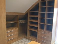 Splendid Bathroom Attic Renovation Ideas Simple and Ridiculous Tips Can Change Your Life: Attic Apartment Industrial attic master cabinets. Attic Bedroom Storage, Attic Closet, Attic Bedrooms, Attic Playroom, Attic Bathroom, Basement Bedrooms, Attic Office, Bathroom Ideas, Master Bedroom