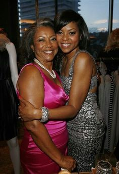 Taraji P. Henson and her mother