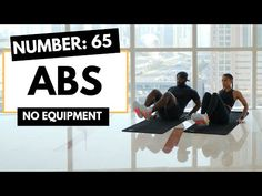 Lower Ab Workout ➡ Abs Workout at Home: 65 - YouTube Home Workout Videos, Abs Workout Video, Gym Workout Tips, Best Ab Workout, Abs Workout Routines, Ab Workout At Home, Butt Workout, At Home Workouts, Exercise Moves