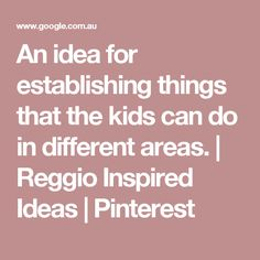 - An idea for establishing things that the kids can do in different areas. Reggio Emilia Classroom, Reggio Inspired Classrooms, Eyfs Classroom, Montessori Trays, Canning, Kids, Young Children, Boys, Children