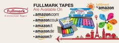 Fullmark tapes are now available on Amazon Europe marketplaces! Grab yours now by links below.  Amazon.com: http://bit.do/fullmark Amazon.co.uk: http://bit.do/fullmarkUK Amazon.it: http://bit.do/fullmarkIT Amazon.de: http://bit.do/fullmarkDE Amazon.fr: http://bit.do/fullmarkFR