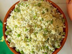 Mesfouf ou couscous aux petits pois (jelbana)