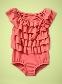 toddler girls swim suit.