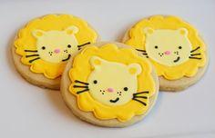 Lion cookies. {bake at 350}