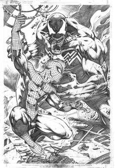 Spider-Man vs. Venom by Marcio Abreu *