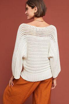Crochet Blouse, Knit Crochet, Knitting Designs, Knitwear, Meraki, Anthropologie, Crochet Patterns, Knit Sweaters, Cardigans