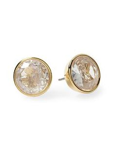 Michael Kors Crystal Stud Earring | Piperlime @Dona Campbell