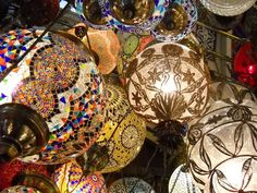 Grand Bazaar, Istanbul, Turkey  Photograph by Michelle Sonnega