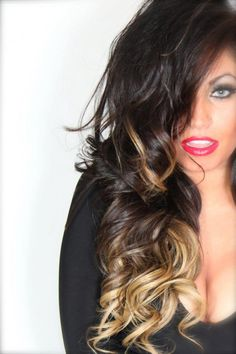 in love with ombre. so wanna do my hair like this....maybe by summatime ;)