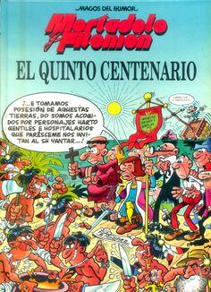 Mortadelo y Filemón descubren América. Vintage Comic Books, Vintage Comics, Historia Universal, Caricature, Magazines For Kids, Humor, Cover Art, Nostalgia, Cartoon