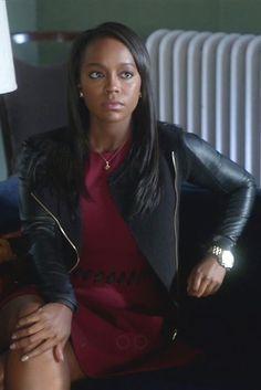 Michaela Pratt wearing  Elizabeth