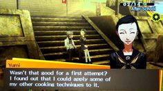 Persona 4 Golden - Valentine's Day with Yumi