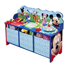 Mickey Mouse Musical Bench- would really like to get this for him as well for his toys in the living room.... :)