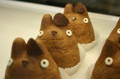 Totoro cupcake! yum!