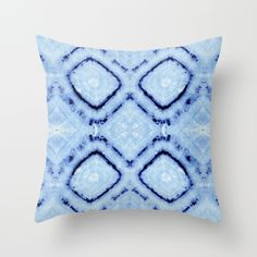 Tie-Dye Dia Sky Pillow by Nina May designs