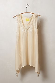 Embroidered Afterglow Peasant Top #anthropologie
