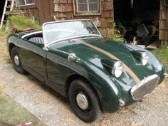 I quite simply enjoy this finish color for this Frog Eye, Austin Healey Sprite, First Time Driver, British Sports Cars, Classic Cars Online, Car Insurance, Old Cars, Porsche 911, Luxury Cars