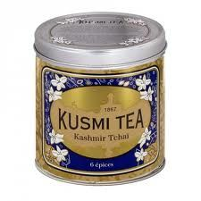 Kashmir Chai from Kusmi Tea - wonderfully smooth and spicy!