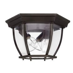 View the Capital Lighting 9802 Capital Outdoors 3 Light Outdoor Flush Mount Ceiling Fixture at Build.com.