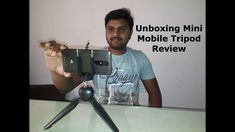 Unboxing Cheap and Best Mini Mobile Tripod & Review in Telugu